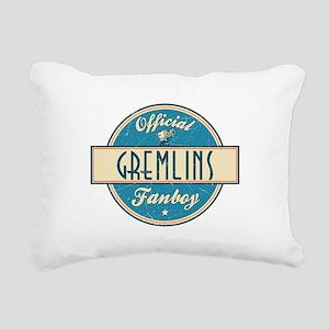 Official Gremlins Fanboy Rectangular Canvas Pillow
