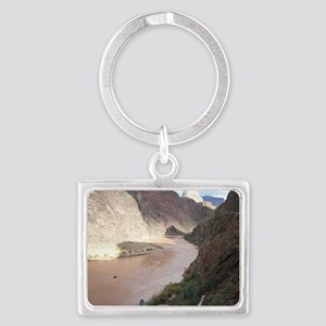 Bright Angel Mule Ride To Phant Landscape Keychain