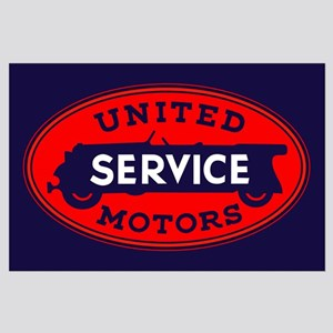 United Motors Service Large Poster