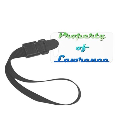 Property Of Lawrence Female Luggage Tag