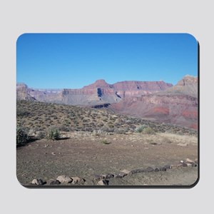 South Kiabab Mule Ride To Phantom Ranch Mousepad