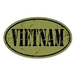 Vietnam Sticker (Oval)