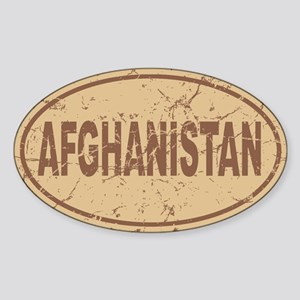 Afghanistan Auto Sticker (Oval)