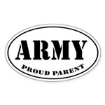 Proud Army Parent Auto Sticker