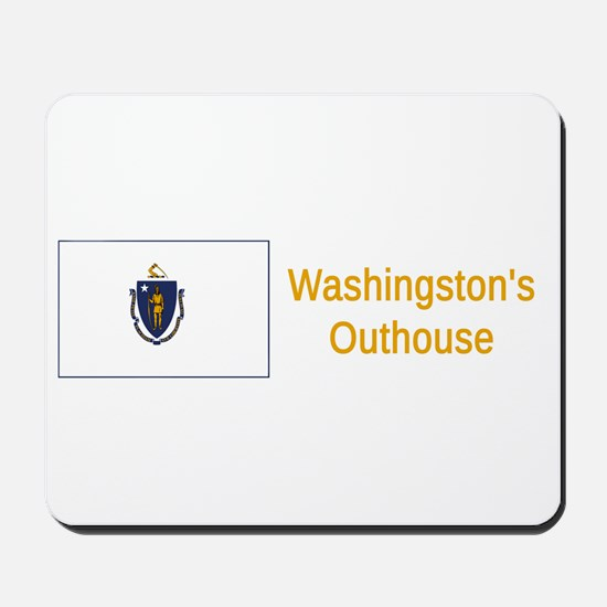 Massachusetts Humor #4 Mousepad