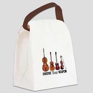 Choose Your Weapon Canvas Lunch Bag
