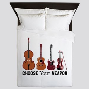 Choose Your Weapon Queen Duvet