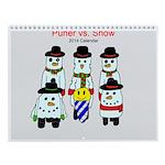 2014 Puner Vs. Snow Wall Calendar