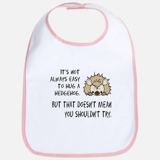 Hug a Hedgehog Bib