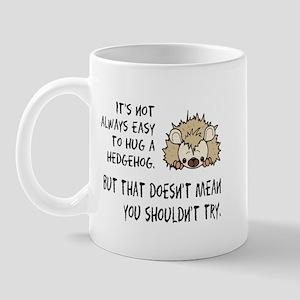 Hug a Hedgehog Mug