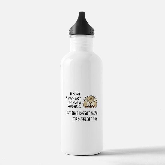 Hug a Hedgehog Water Bottle