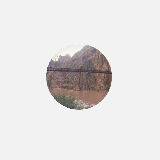 South Rim Grand Canyon Phantom Ranch Mini Button