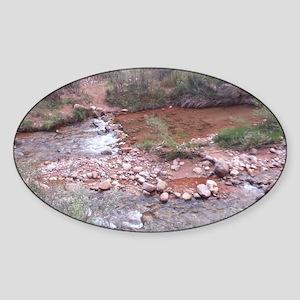 South Rim Grand Canyon Phantom Ranc Sticker (Oval)
