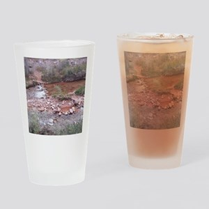South Rim Grand Canyon Phantom Ranc Drinking Glass