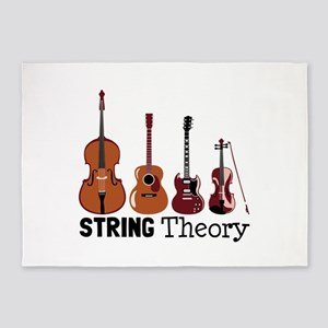 String Theory 5'x7'Area Rug