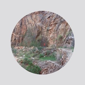 "South Rim Grand Canyon Phantom Ranch 3.5"" Button"