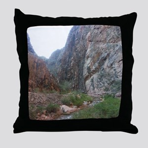 South Rim Grand Canyon Phantom Ranch  Throw Pillow