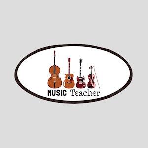 Music Teacher Patches