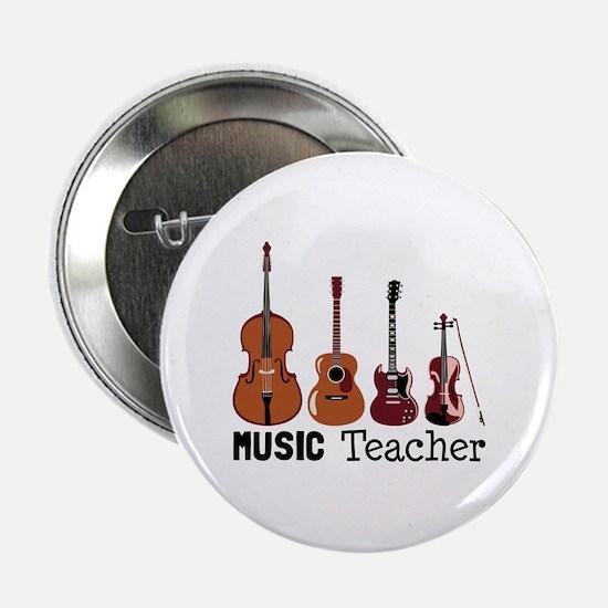 """Music Teacher 2.25"""" Button"""
