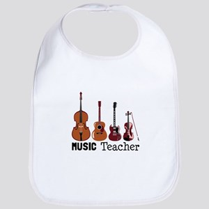 Music Teacher Bib