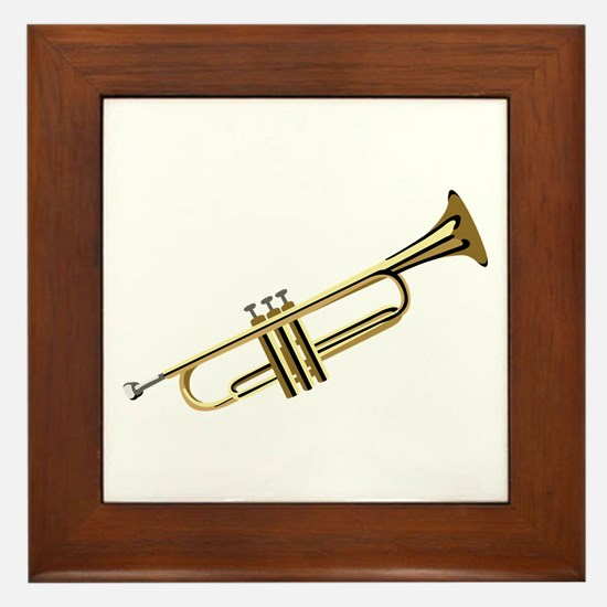 Trumpet Framed Tile
