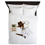 Wanted Dead Or Alive, JRT Humor Queen Duvet