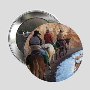 "South Kiabab Grand Canyon Mule Ride 2.25"" Button"