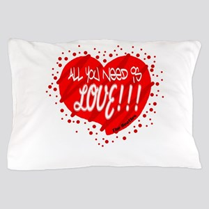 All You Need Is Love-The Beatles Pillow Case
