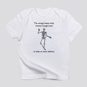 Skeleton Bones in the Average Human Body Infant T-