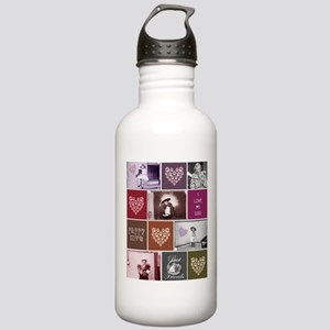 Vintage Puppy Love Stainless Water Bottle 1.0L