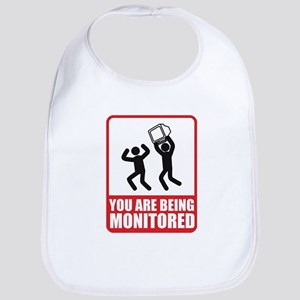 You Are Being Monitored Bib