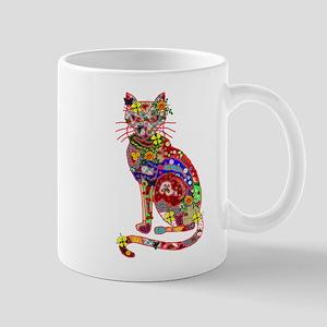 Patchwork Cat Mug