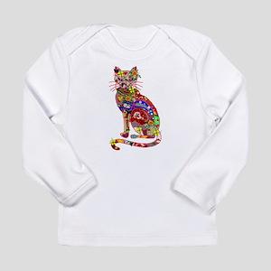 Patchwork Cat Long Sleeve Infant T-Shirt