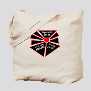 To Catch Your Heart-Robert Browning/t-shirt Tote B