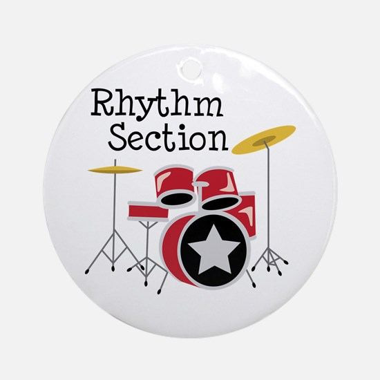 Rhythm Section Ornament (Round)