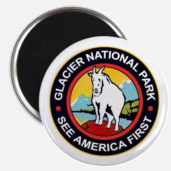 Glacier National Park Montana Magnets