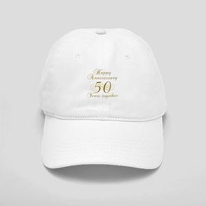 50th Anniversary (Gold Script) Cap