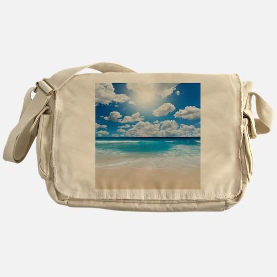 Sunny Beach Messenger Bag