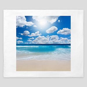 Sunny Beach King Duvet