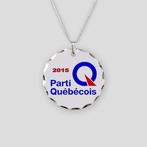 Parti Quebecois 2015 Necklace Circle Charm