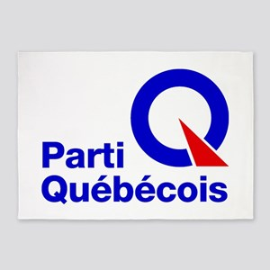 Parti Quebecois 5'X7'area Rug