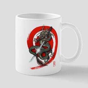 Dragon Katana4 Mug