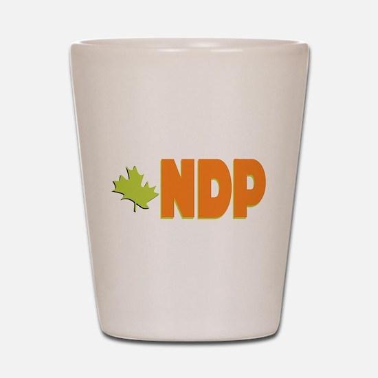 NDP Shot Glass