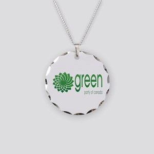 Green Party Of Canada Necklace Circle Charm