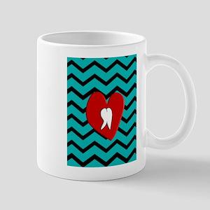 Dental Chevron 4 Mugs