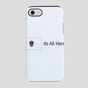 Massachusetts Motto #5 iPhone 7 Tough Case