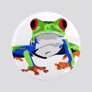 "Frog 3.5"" Button"