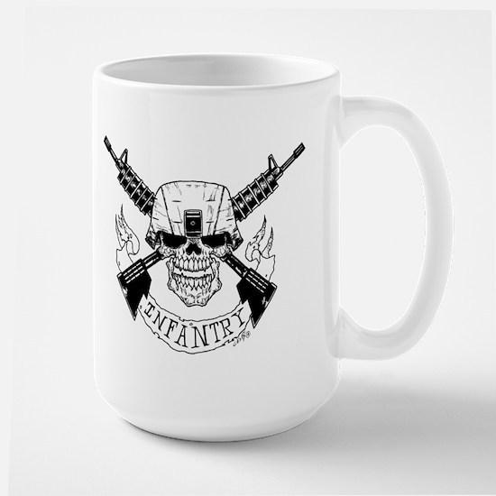 Military Infantry Skull Mugs