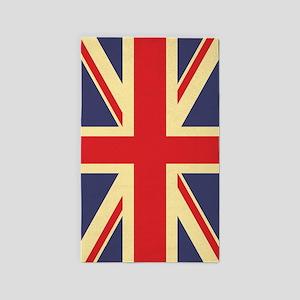 British Flag, 3'X5' Area Rug