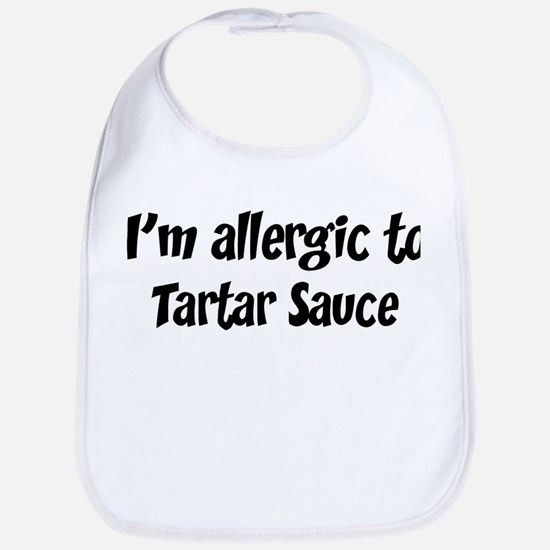 Allergic to Tartar Sauce Bib